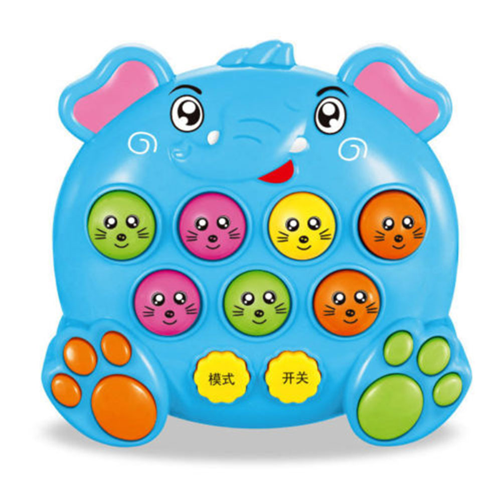 1pc Children's Musical Play Notes Hit Hamster Game Toy Educational Electronic Baby Kids Funny Toys Gift Color Random Bracing Up The Whole System And Strengthening It