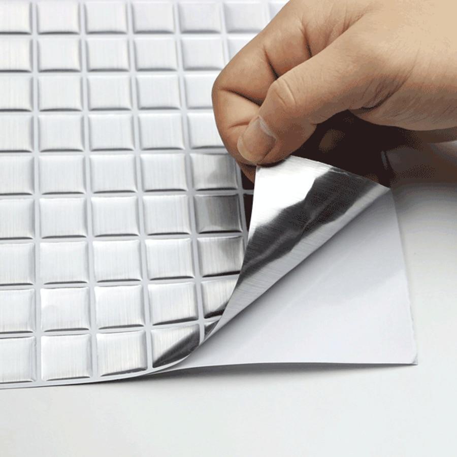 Vividtiles Waterproof Vinyl Self Glue Wallpaper 3D Peel