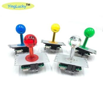 Joystick Arcade yinglucky de 4/8 vías, 5 pines, juego de bricolaje, Joystick, bola roja, palo de lucha, piezas de repuesto para juego Arcade jamma