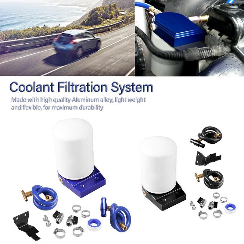 Coolant Filtration System Filter Kit 2003 07 Ford 6.0L Powerstroke Diesel Turbo