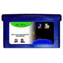 Game Memory Card For GBA GAME 150 In 1 NES + 106 SMS Gameboy Advance Multicart Collection