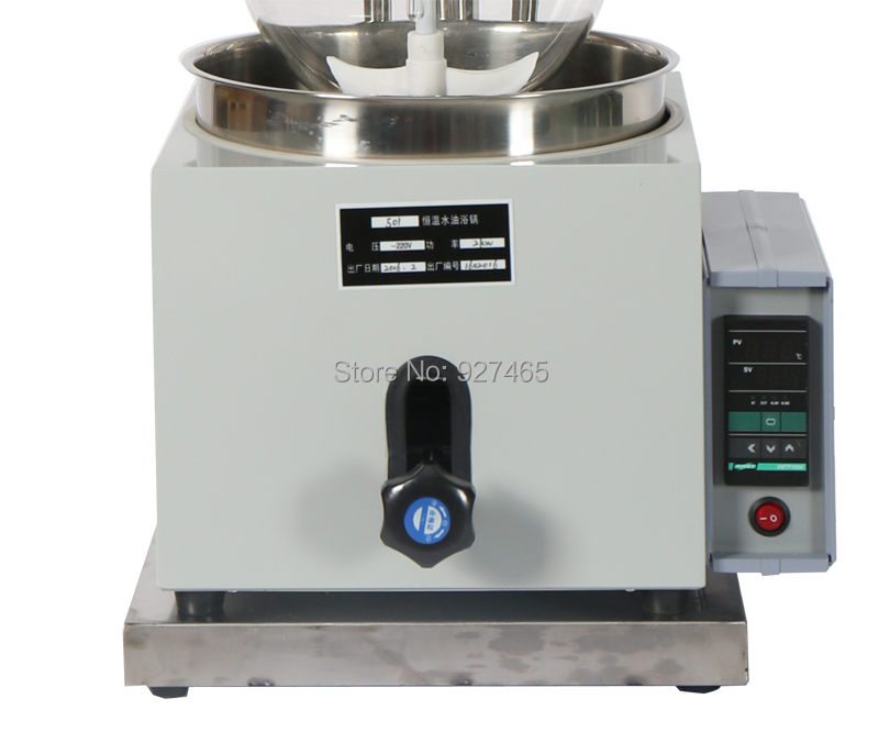 YHChem 2L Laboratory Single layer Vacuum Glass Reactor Chemical Reactor Continous Stirred Reactor in Laboratory Thermostatic Devices from Office School Supplies