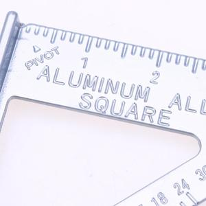 Image 5 - Triangle Ruler Aluminum Alloy Speed Square Protractor Miter Framing For Woodworking Carpenter Measurement Tool