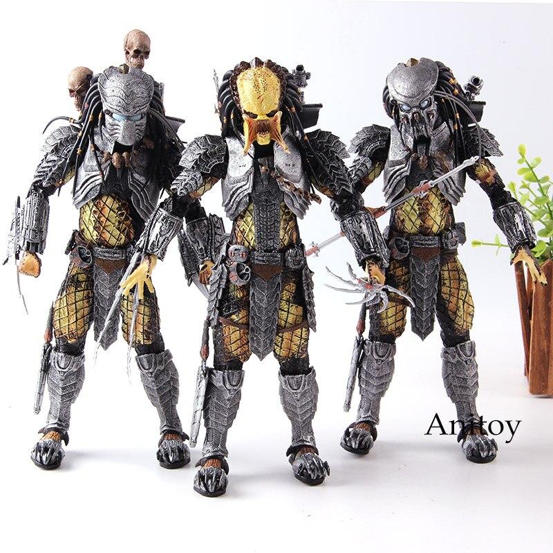 """Predator AVP Scar Predator Series 14 Wave 7/"""" Action Model NECA Alien VS"""