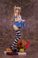 купить Hot Anime ALPHAMAX SKYTUBE Aun Scale Action Figure Toys  Alice with Pumpkin Sexy Japan Comic PVC Anime Sexy Doll Model Toys по цене 1289.6 рублей