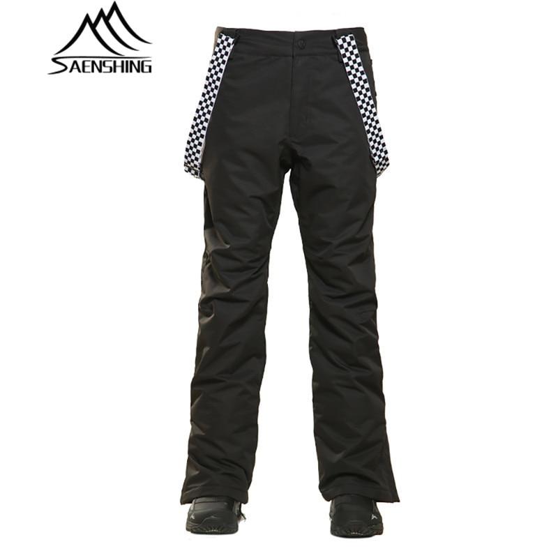 SAENSHING 2018 pantalons de Ski hommes hiver pantalons de plein air imperméable Snowboard snowpantalon respirant homme pantalon de Ski de montagne