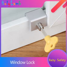 Window Limiter Baby Safety Security Window Lock Protecting Child Safety Lock Window Stopper Protection For Children Baby Safety 85 95cm window use safety pannel babysafe child window fence single loaded window safety bar iron safety fence