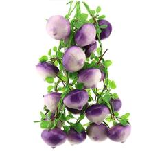 Gresorth Fake Vegetable Bunch Artificial Onion Decoration for Home Kitchen Shop Party Show Food Display - 5 PCS