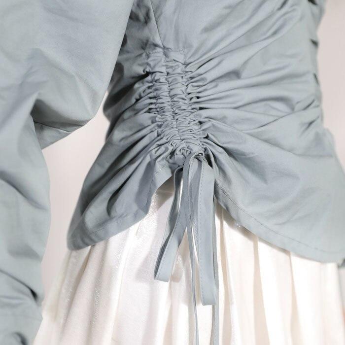 Femelle 2019 Blue Câble culture Vêtement Unique Auto Tracteur Nouvelle De Mode Za022602 Produit D'été Robe Deat Femme Pour Chemise Haze Conception awdHaf