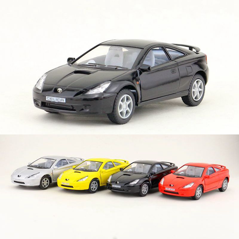 Free Shipping/KiNSMART Toy/Diecast Model/1:34 Scale/Japan TOYOTA Celica/Pull Back Car/Educational Collection/Gift For Children
