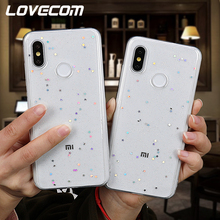 LOVECOM Glitter Powder Soft TPU Phone Case For Xiao