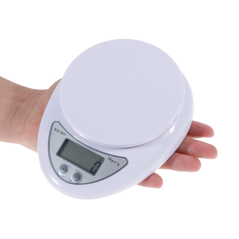 Portable Digital Scale Led Electronic Scales 5kg/1kg Postal Food Balance Measuring Weight Kitchen Led Electronic Scales Kitchen Scales