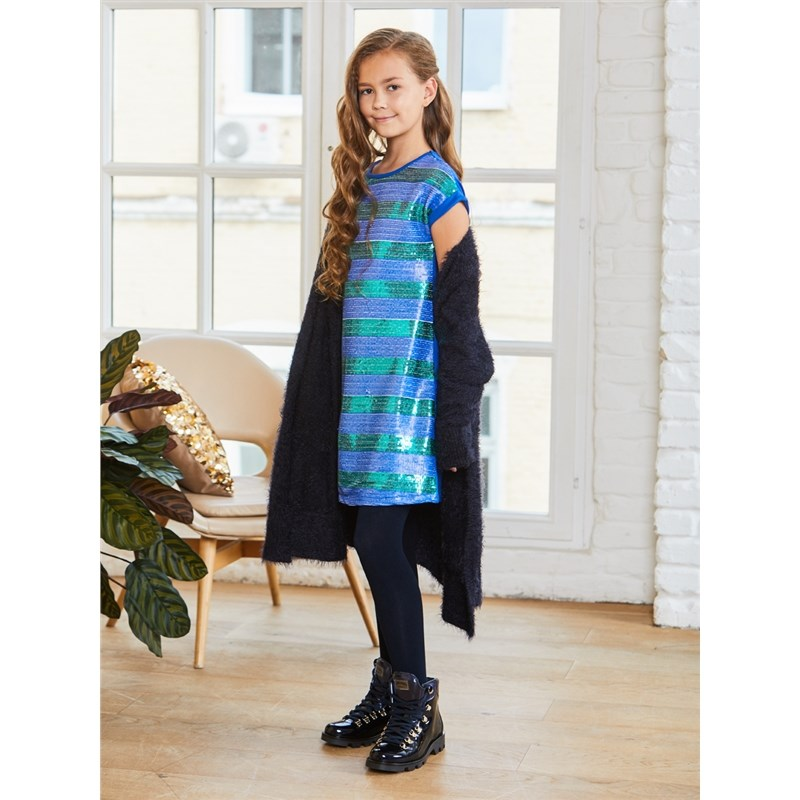 Dresses Sweet Berry Knitted dress for girls children clothing женское платье a line slim dresses girls ladies shealth dress для live show party dancing
