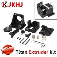 Titan экструдер для E3D V6 Hotend j-руководителя 1,75 мм дистанционная подача 3D-принтеры Запчасти нити 3:1 коэффициент передачи универсальный экструдер