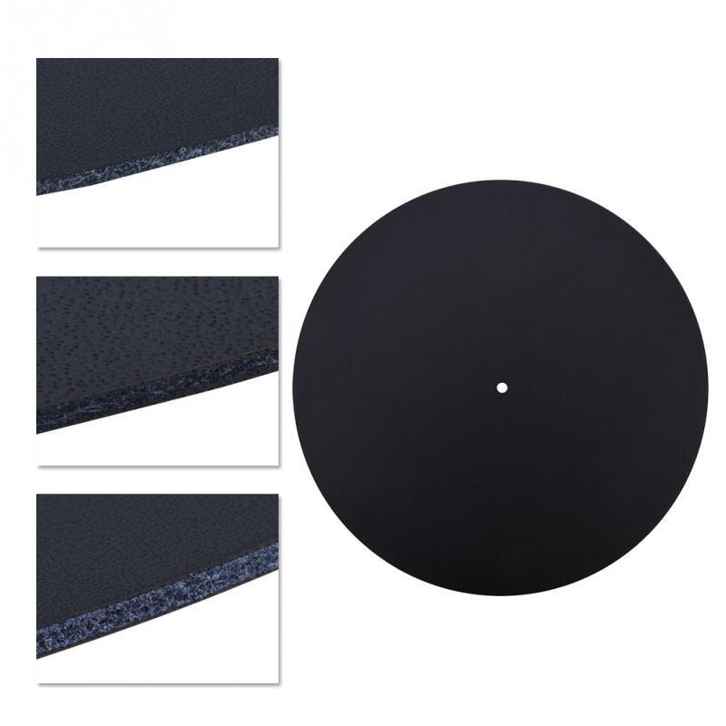 Anti Static Vinyl Turntable Record Pad Antistatic Flat