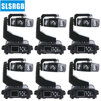 6pcs/lot LED Moving Head Double Flying Light UFO Single Wheel 8 X 40W RGBW 4IN1 Leds DMX 18 Channels Led Snake moving head