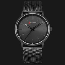 цена на CURREN Watch Men Casual Sport Clock Mens Watches Top Brand Luxury Full Black Steel Quartz Watch For Male Gifts Relogio Masculino