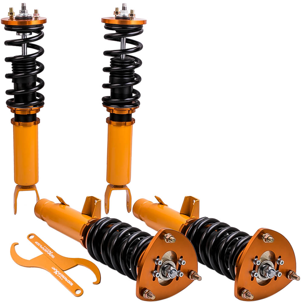 4 PCS Coilovers Suspension Kits For Honda Accord 2013 2014 2015 2016 Adj Height