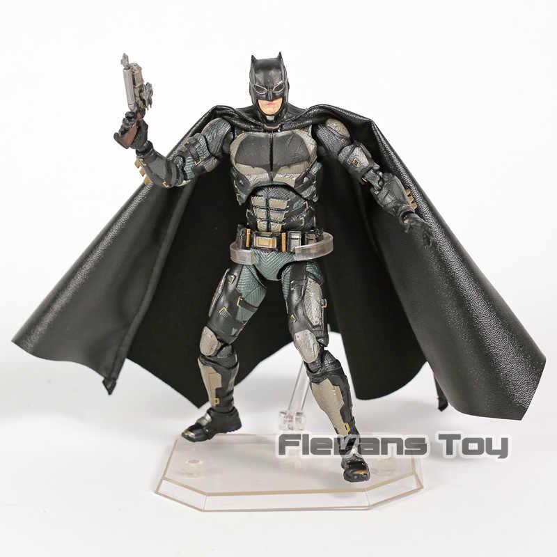 Justice League The Dark Night Batman MAFEX 064 Тактический Костюм ПВХ экшн фигурная Смола Коллекция Модель игрушечная кукла
