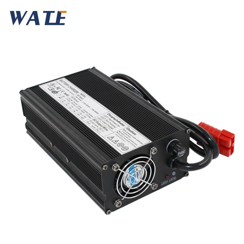 75.6 V 6A Caricatore 18 S 66.6 V Li-Ion battery charger per ebike batterie In Lega di Alluminio con Ventilatore
