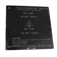 Heated Bed 330*330 Aluminium PCB Heatbed 12v 24v Heat bed for MK3 3D Printer