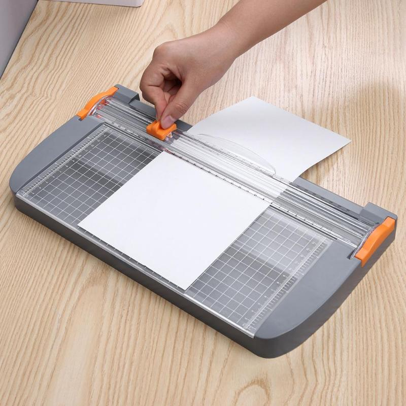 VODOOL DIY Portable A4 Plastic Paper Trimmers Precision Photo Scrapbooking Cut Tools Cutting Machine Office School Supplies
