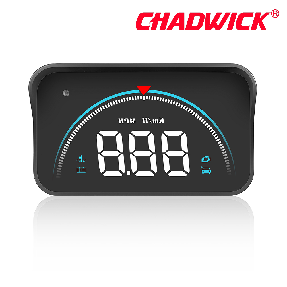 Image 4 - Car HUD Head Up Display driving datas on the front windshield CHADWICK M8 driving information instantly speed,RPM,water temperat-in Head-up Display from Automobiles & Motorcycles