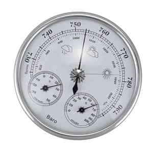 Image 1 - Wall Mounted Household Thermometer Hygrometer High Accuracy Pressure Gauge Air Weather Instrument Barometer