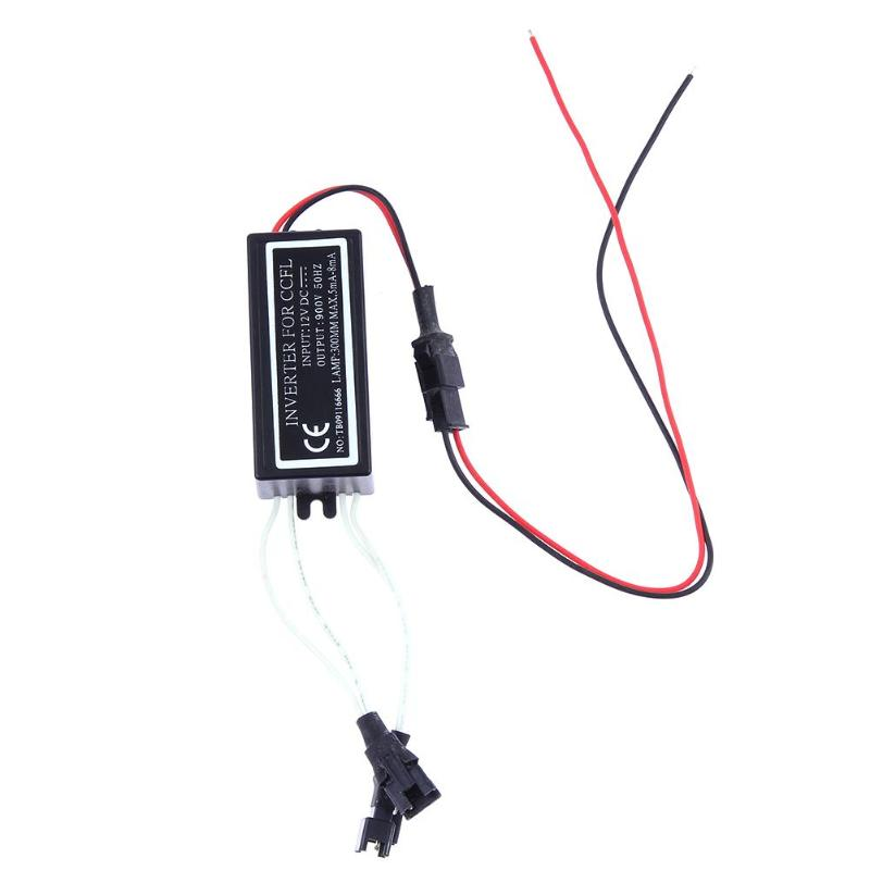 Waterproof DC 12V 10W Car Power Supply Inverter Converter for CCFL Angel Eyes Light Lamp Halo Rings Spare Ballast accessories