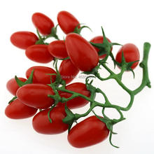Gresorth Artificial Red Cherry Tomatoes Lifelike Fruit Fake Food Home Party Kitchen Decoration - 1 Pack