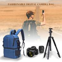 Photo Camera DSLR Video Waterprpof Oxford Fabric Soft Padded Shoulders Backpack SLR Bag Case for Digital Camera Camera Bags