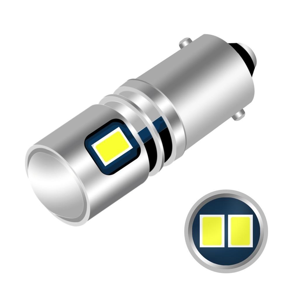 1 Piece BA9S T4W LED Car Light Bulb T2W T3W H5W Interior Car LED License Plate Light 5 LED 2835 SMD