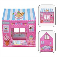 Tent Baby Children Castle Pop Up Play Tent For Kids Girl Cake Bake Playhouse Outdoor Indoor UK Tenda Infantil Baby Tent House