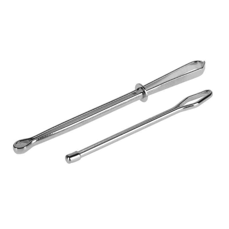 ホット 2 ピース/セットステンレス鋼に引用クリップ弾性着用ロープウィービングツールバッグラップロープ着て縫製アクセサリー