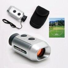 Открытый 7X цифровой Монокуляр Дальномер для гольфа Golfscope с чехлом портативный телескоп аксессуары для кемпинга(серебро