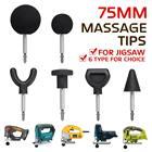1X/6X/8X Muscle Relaxation Massage Guns Attachments Massage Tip & Bit Adapter Extended Heads For Jigsaw/Worx/Ryobi