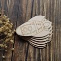 Quadrinhos do Foguete de madeira Formas Artesanais de Madeira Compensada