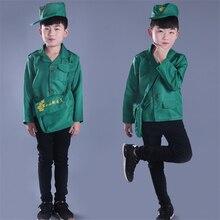 Los niños cartero oficina de correos uniforme disfraces de Halloween para  los niños trabajo niños niñas de ropa de rendimiento s. 00e9183e7c9