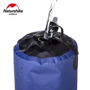 Image 4 - Naturehike 11L Outdoor Baden Wasser Taschen Outdoor Aufblasbare Dusche Druck Duschen Tragbare Camp Dusche Waschen Autos Werkzeuge