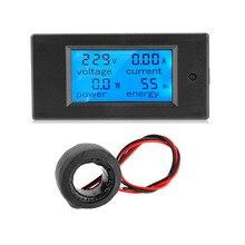 100A AC 80~ 260 В измеритель мощности точный Вольтметр Амперметр кВтч Ватт счетчик энергии напряжение тока измеритель мощности Электрический измеритель
