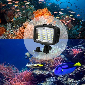 Waterproof Plastic Cases | Diving Led Video Light 40M Waterproof Underwater Led Photography Cctv Camera Lighting Led Outdoor Cameras Lamp Sl-101 Case