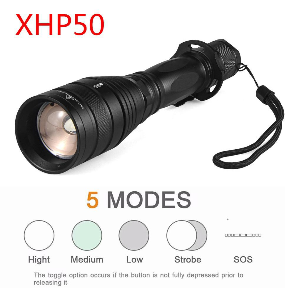 Contemplative Led Flashlight 18650 Battery Xhp50 High Power 3800lm Lamp Torch Light Zoom Powerful Flashlight For Outdoor Camping Hunting Catalogues Will Be Sent Upon Request Lights & Lighting Led Lighting