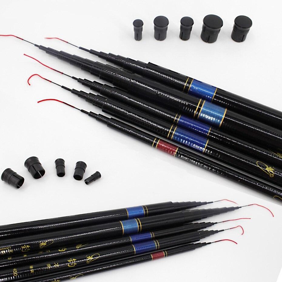 Image 4 - THEKUAI Superhard 37T Ultra light Stream Fishing Rod Power FRP Hand Pole Telescopic Fishing Rod for Carp Fishing-in Fishing Rods from Sports & Entertainment
