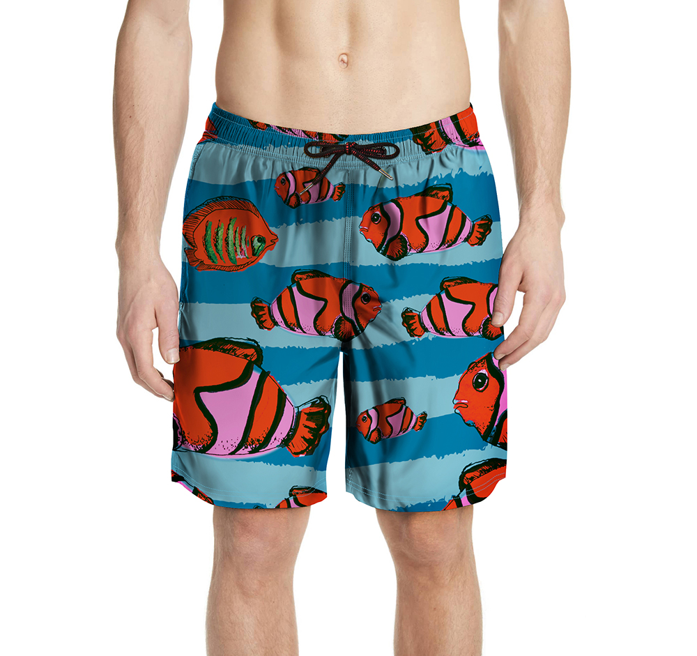 Pocket Swimwear Swim   Shorts   Trunks Beach   Board   Swimming   Short   Quick Drying Swimsuits Mens Running Sports Surffing   shorts   For Men