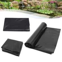 5'x10' HDPE облицовка для пруда тяжелый ландшафтный сад бассейн усиленный водонепроницаемый бассейн вкладыши ткань рыба порода пруд облицовка мембрана