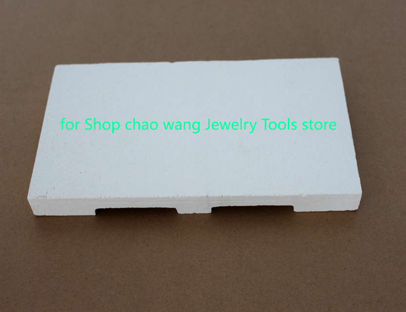 Big Refractory Tile Graphite Welding Tile For Jewelry Tools 24x12x12cm
