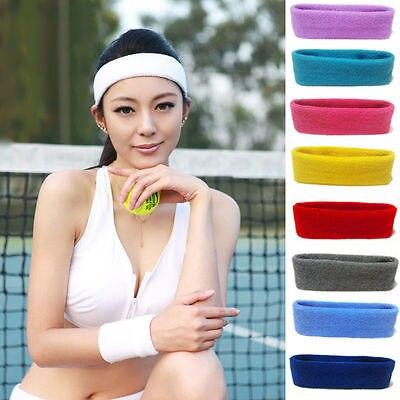 varios colores Cinta el/ástica de deporte para la cabeza 1 unidad, algod/ón para el sudor
