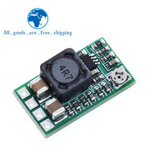 Mini DC-DC 12-24V untuk 5V 3A Step Down Power Supply Modul Tegangan Buck Converter Adjustable 97.5% 1.8V 2.5V 3.3V 5V 9V 12V(China)