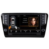 Автомагнитола автомобилей мультимедийного android автомобильный dvd для VW Skoda Octavia A7 2014 2018 9 2G/32G автомобиль радио gps