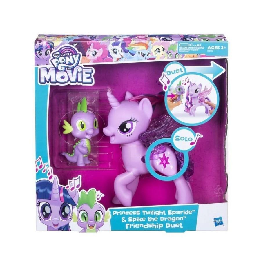"""""""Сияние"""" Поющая Твайлайт Спаркл и Спайк для девочек My Little Pony C0718121"""